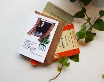 Hemingway Quote Card