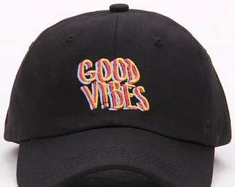 Good Vibes Dad Hat