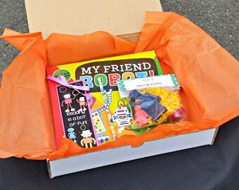 Robot Themed Book Box