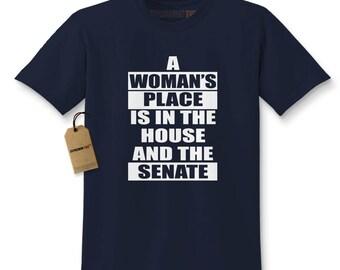 A Womans Place… Kids T-shirt