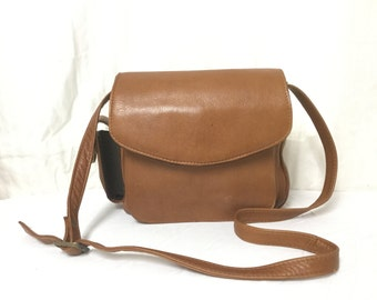 Brown Leather purse, bag,Shoulder Bag, Made in Colombia