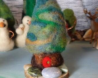 Fairy Pine with Gemstones