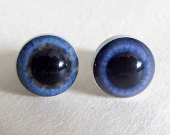 Pair Safety Doll Eyes, Teddy Bear Eyes 10 mm, Toy Eyes, Craft Eyes, Plush Eyes, Plastic Eyes, Animal Eyes