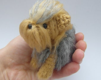 CROCHET PATTERN ONLY Yorkshire Terrier - York- Yorkie pdf instructions