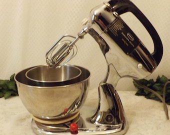 Vintage Hamilton Beach Scovill Stainless Stand Mixer Model 020