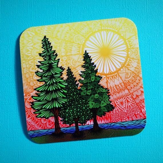Nature Sticker (WATERPROOF)