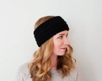 Haymarket Head Warmer - Black - Ear Warmer