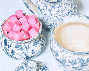 Strawberry Sugar Cubes (120+ Bagged) Tea Beverage Sweetener Baby Showers Boxed Party Favors