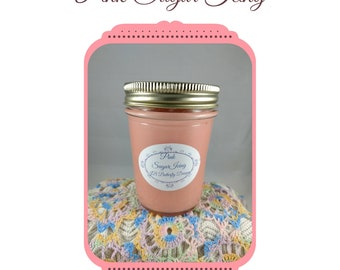 Grandma's Kitchen Scented Soy Candles 8 oz, Soy Candles,Natural Candles, Soy Wax,Scented Wax, Mason Jar Candles, Blueberry Cobbler, smores