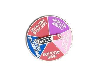 RuPaul Drag Mood Spinning Pin - PREORDER