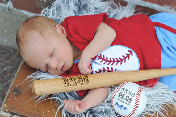 Personalized baseball birth announcement baby boys gift personalized baseball birth announcement baby boys gift engraved baseball custom baseball sports nursery typography monogrammed baseball negle Images