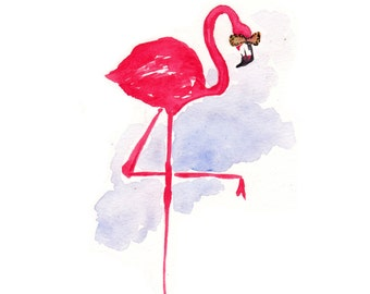 Sunny Flamingo