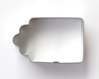 Gift Tag Cookie Cutter, Christmas Cookie Cutter