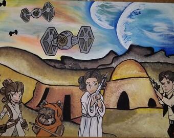 Custom Star Wars