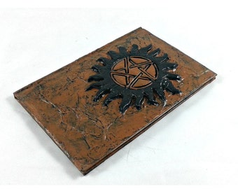 Anti Possession Tattoo Symbol Journal, Supernatural diary notebook