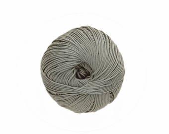 Cotton knitting No. 38 liquen Natura