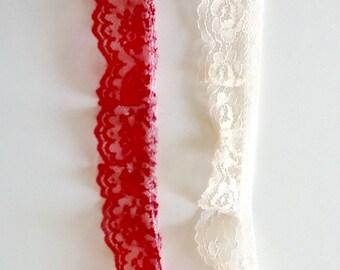 "1-1/4"" Ruffled Lace"