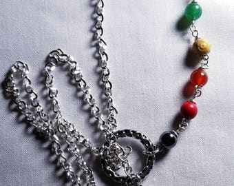 10 Chakra Clearing ~  Lariat Necklace