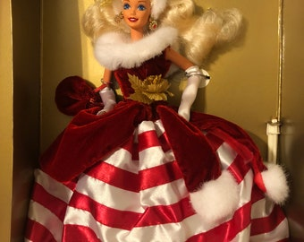 1994 Peppermint Princess Barbie - The Winter Princess Collection