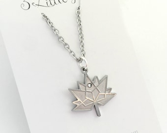 Official Licensed Canada 150  Necklace/ Canadian Souvenir/Maple Leaf Necklace/Gift from Canada/ Canadian Keepsake/Gift for visiting relative