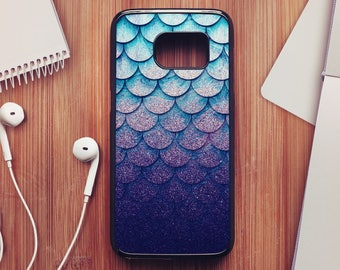 Glitter Scales Case For Samsung Galaxy S8, Scales Case For Samsung Galaxy S7, Scales Case For Samsung Galaxy S6, Scales Case