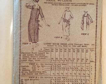Vintage Butterick dress pattern 3888