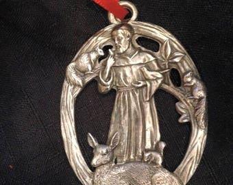 St. Francis Ornament
