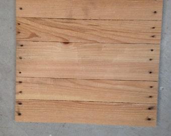 Rustic pallet wood Blank Canvas