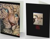 Cougar Art on (3) Blank I...
