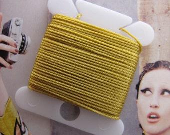 Gold Jewelry Thread Bead Cording Strong Nylon DIY Jewelry String Bracelets Necklaces Mala kumuhimo Craft Macrame Cord 24K Color Nylon Thread