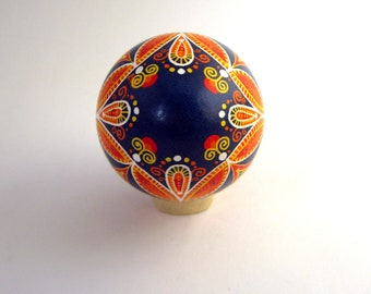 Traditional Ukrainian Easter egg Hand painted Easter egg Ukrainian Pysanka Ukrainian Easter egg Chicken pysanka