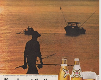 Vintage Miller Lite Ad