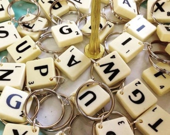 House of Frenchie - Mini scrabble piece collar charm