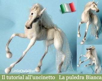 043It Il tutorial all'uncinetto La puledra Bianca. Amigurumi Toy - PDF Di Pertseva Etsy