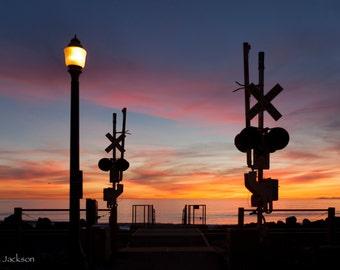 Rail Road Sunset
