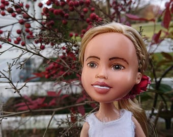 The Winter Wind Doll, by Mirthitude, art ooak + makeunder