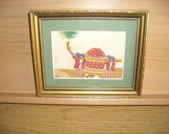 Indian Mughal Style Miniature Paintings