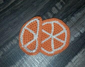 Crochet orange. Amigurumi