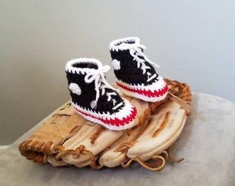 Baby Baseball Booties