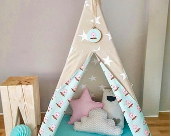 Teepee kids tent play tent