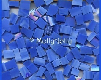 Mosaic Tiles BRIGHT SKY BLUE Glass Mosaic Tile