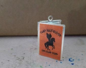 Camp Half-blood demigod fandom book locket