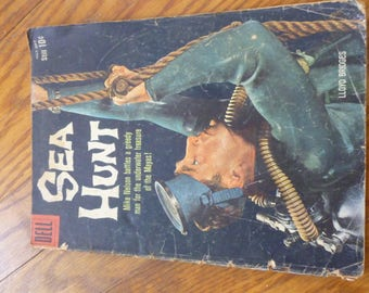 Sea Hunt comic book from 1960