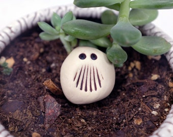 My nickname is Stash. Garden Monster, Plant Decoration, Pocket Monster, Garden Decor, Yard Art, Office Decoration, Funny Gift