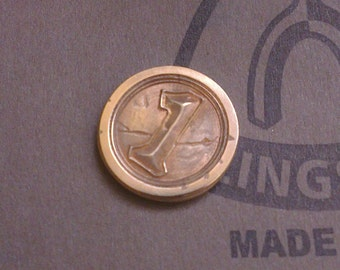 Hearthstone 'The Coin' - CNC milled brass