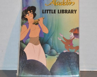 1992 Aladdin Little Library Set of Four Books