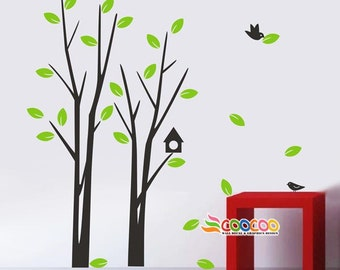 Wall Decal Tree Wall Decals Wall stickers Nursery wall decal children wall decals Removable vinyl love tree 0309