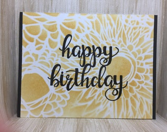 Happy Birthday//Handmade Card