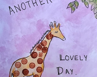Another Lovely Day Original Art