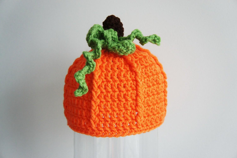 Kürbis Hut Halloween-Mütze häkeln Babymütze Baby-Mütze